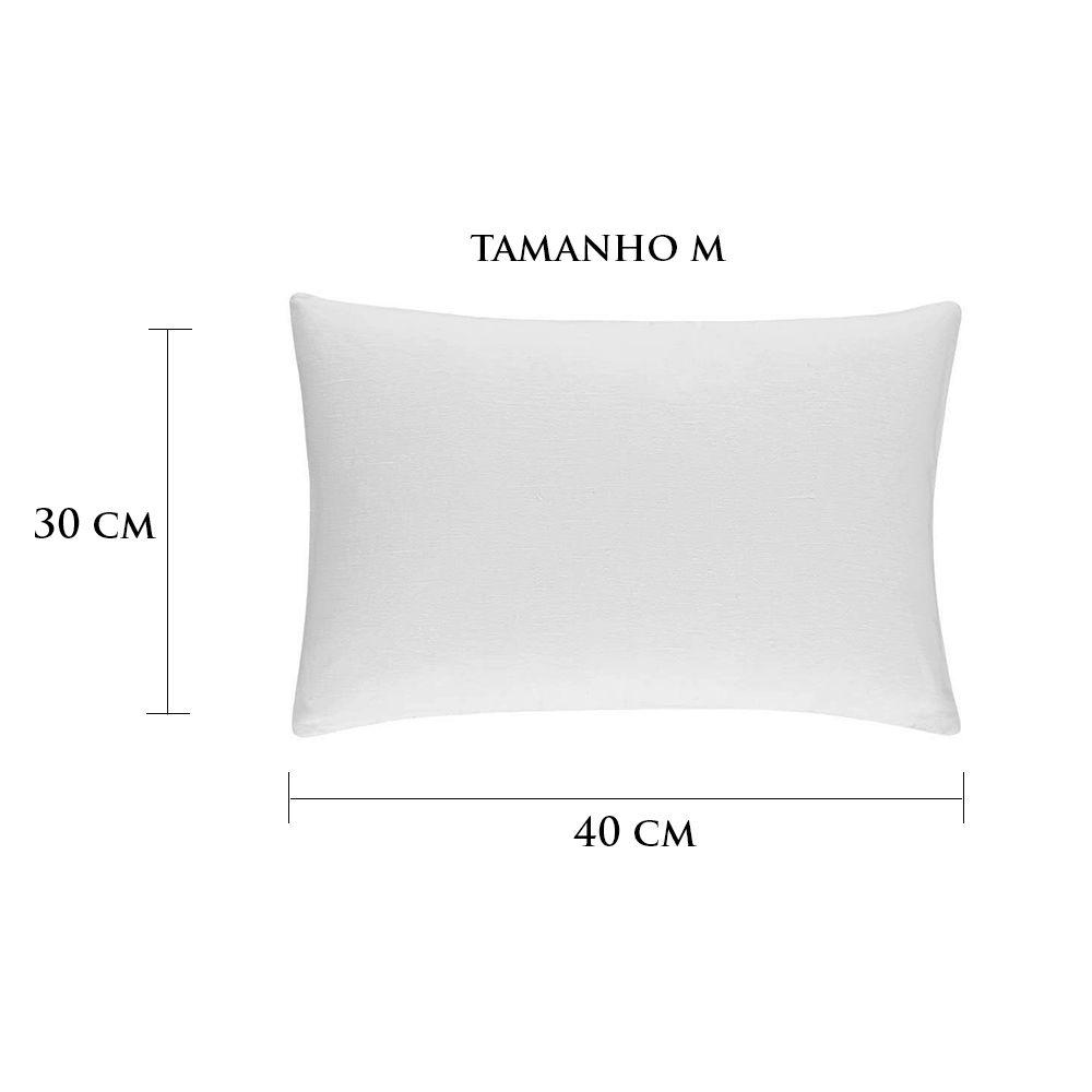 Travesseiro Personalizado Menina Coração M 30 cm x 40 cm