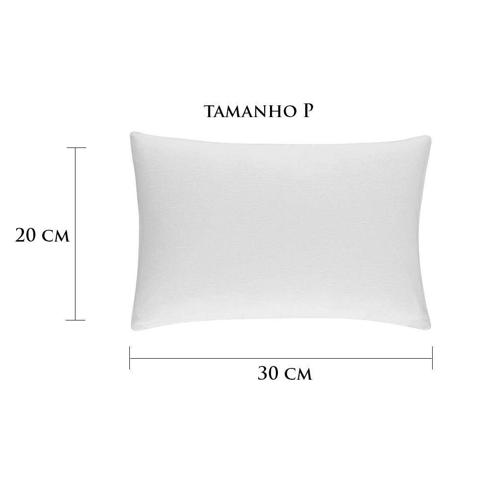 Travesseiro Personalizado Noivinhos Beijo P 20 cm x 30 cm