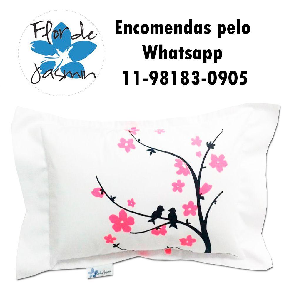 Travesseiro Personalizado Sakura P 20 cm x 30 cm