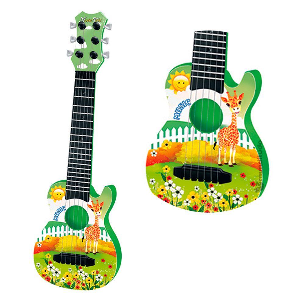 Violão Violinha Brinquedo Infantil Musical Educativo Cores
