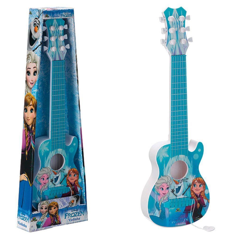 Violão Violinha da Frozen Original Disney Brinquedo Infantil