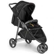 Carrinho Bebê 3 rodas Cross Galzerano Black