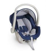 Kit bebê conforto Galzerano Cocoon 8181 azul com base para carro 8185