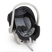 Kit bebê conforto Galzerano Cocoon 8181 Preto/Cinza com base para carro 8185