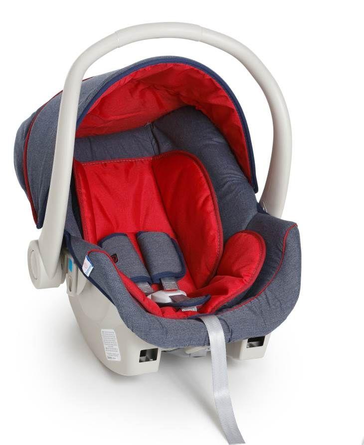 Bebê Conforto Cocoon Galzerano Jeans Vermelho