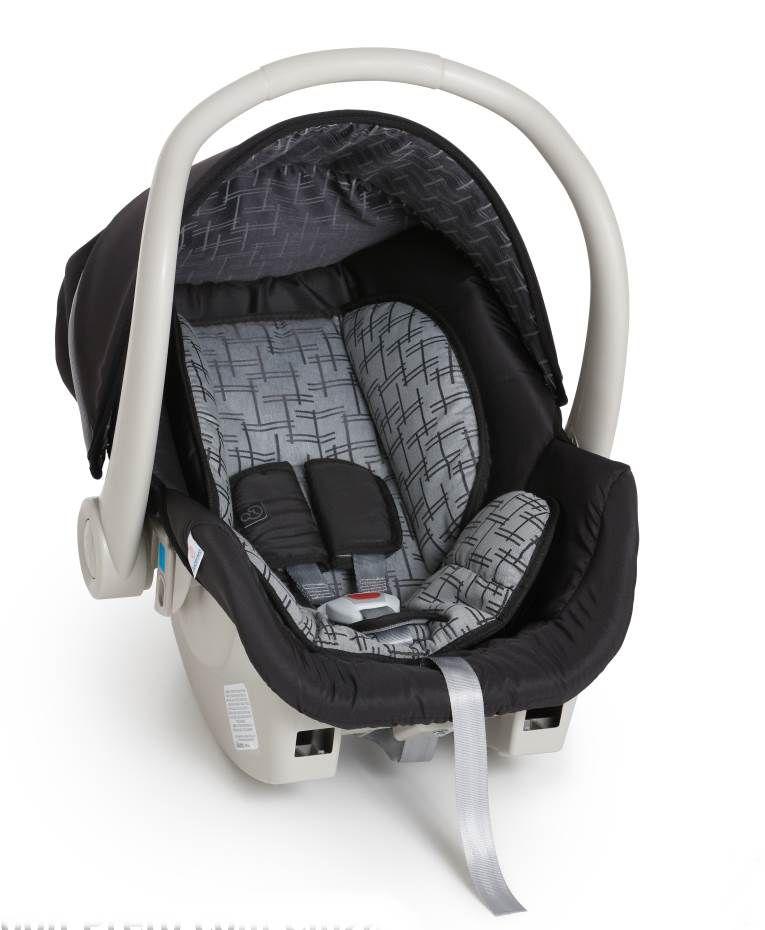 Bebê Conforto Cocoon Galzerano Preto Cinza