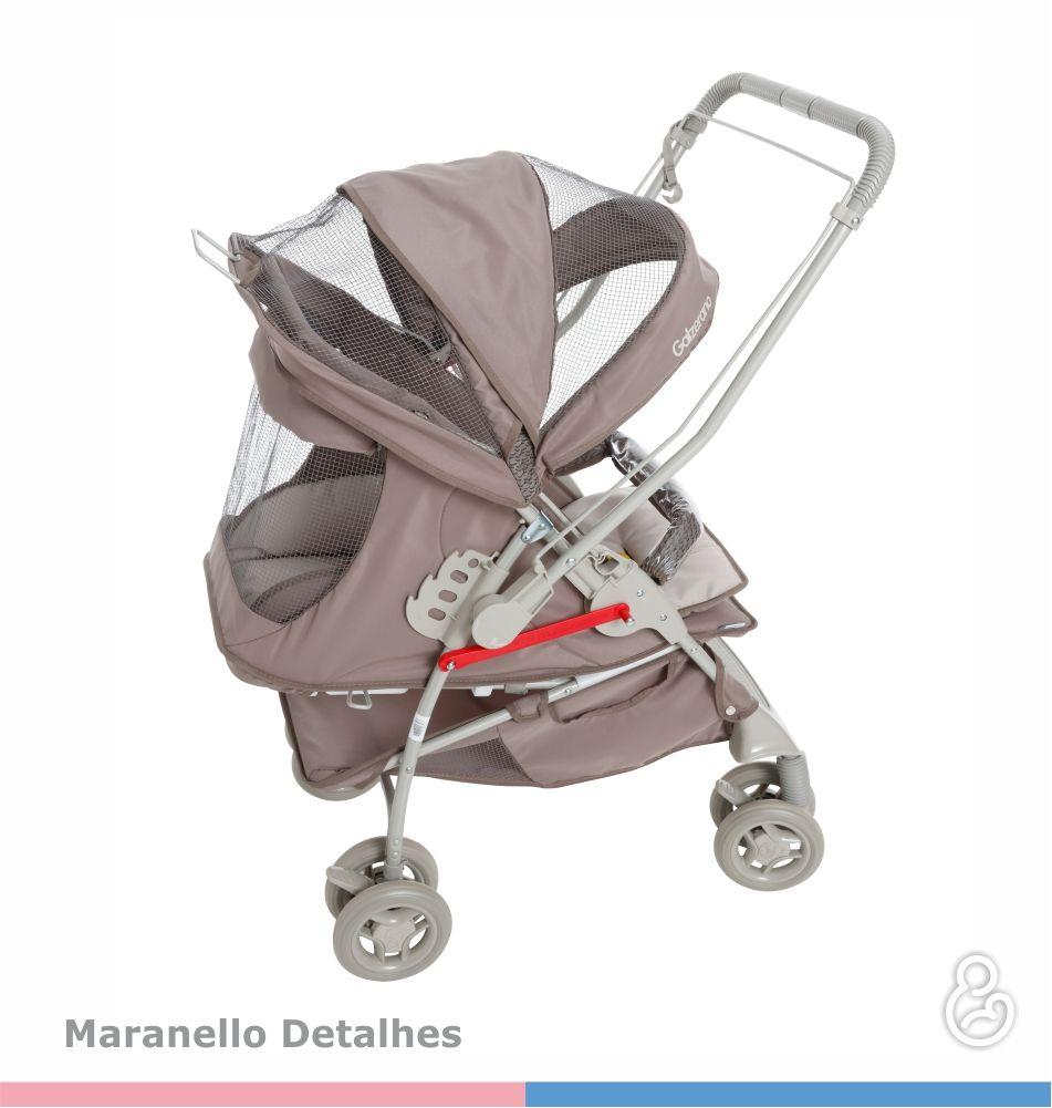 Carrinho Bebê Maranello II Galzerano Capuccino