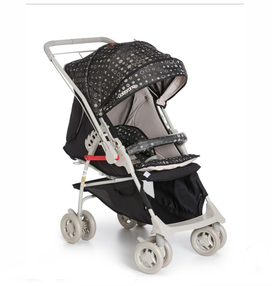 Carrinho Bebê Maranello II Galzerano Preto