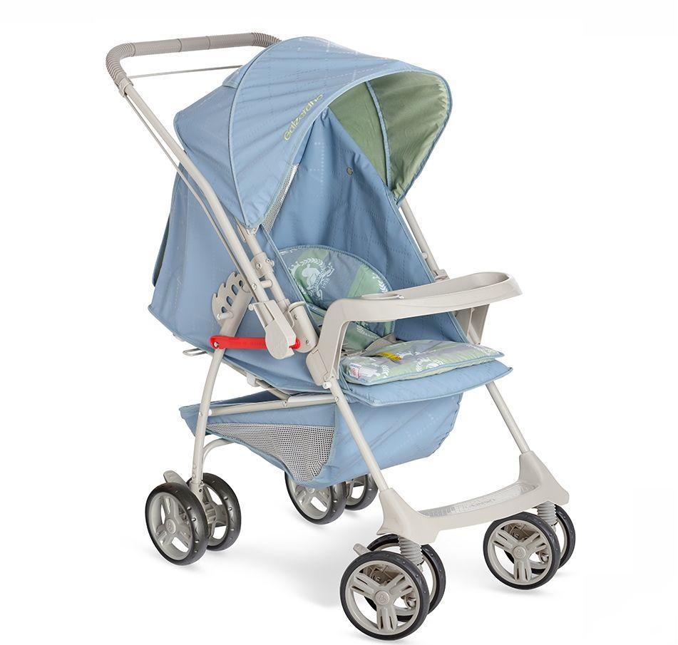 Carrinho Bebê Milano Reversivel II Galzerano Azul Real 1016