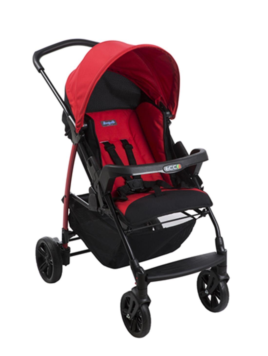 Carrinho de Bebê Burigotto Ecco Red