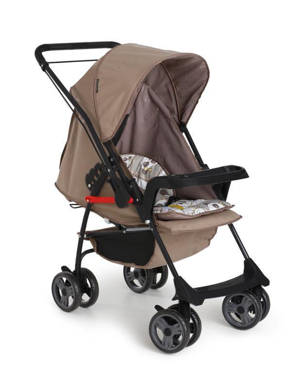 Carrinho de Bebê Milano 1016 Reversível Il Galzerano Panda