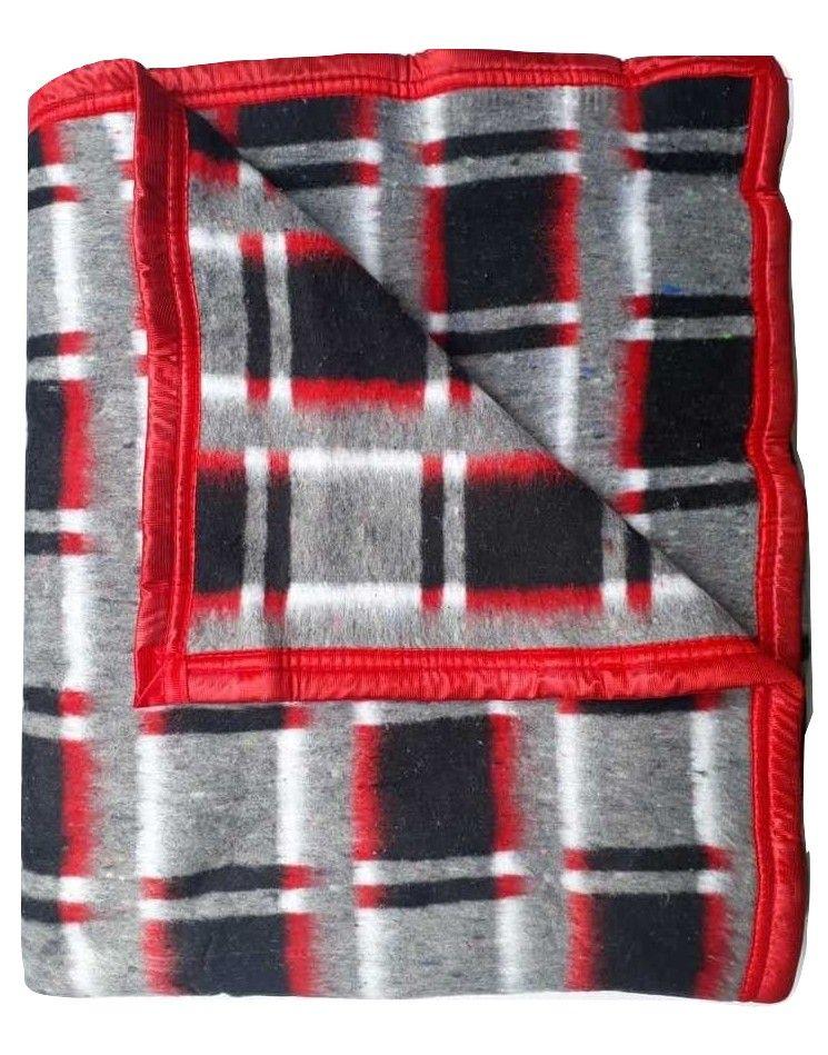 Cobertor Casal Formoso Xadrez 180 x 220 cm