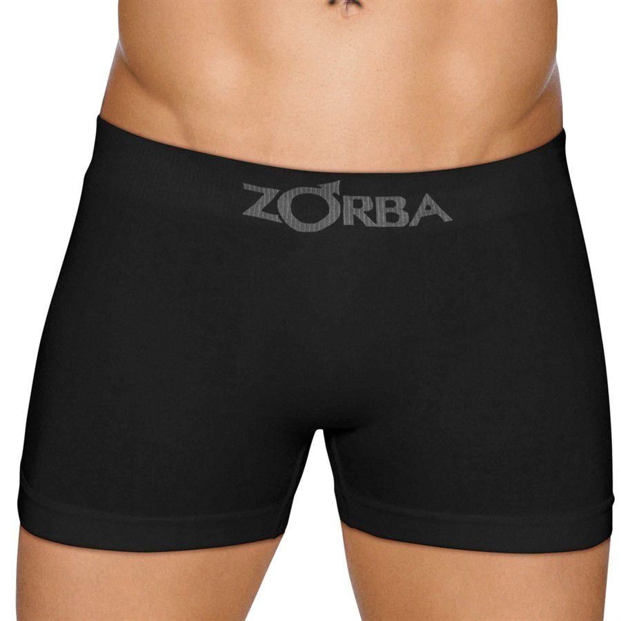 Kit Cueca boxer Zorba 781 Algodão Sem Costura 6 peças