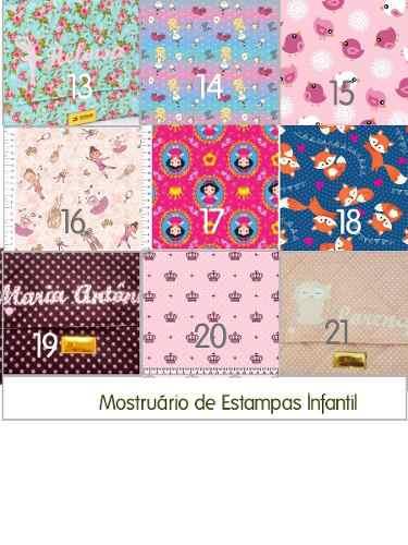 Kit Saquinho Maternidade Personalizado - 4 unidades!