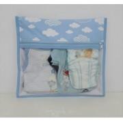 Kit Saquinho Maternidade Nuvem - 3 Unidades