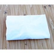Lençol para Berço Padrão de Elástico Branco - 200 Fios