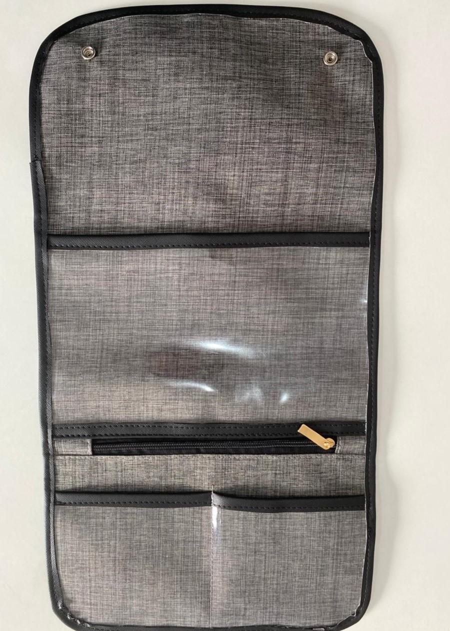 Capa para Caderneta de Vacinação Linho Preto