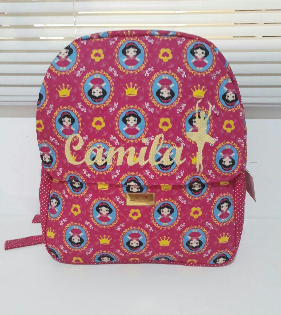 Kit Escolar - Mochila + Estojo Personalizado