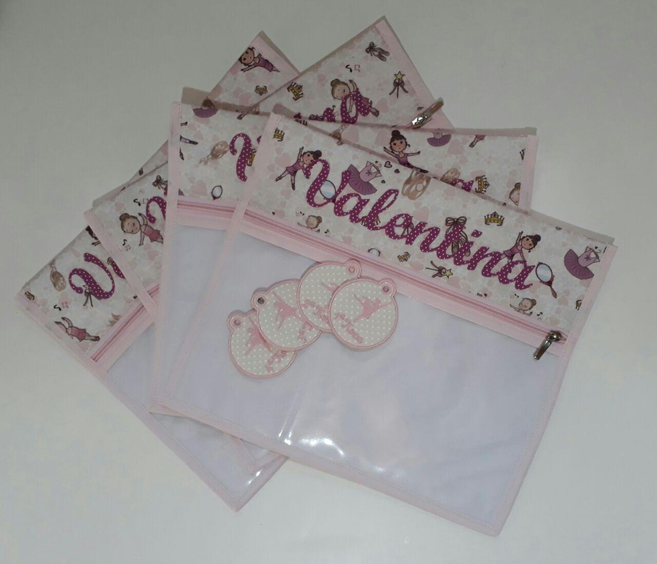 Kit Saquinho Maternidade Personalizado - 4 unidades com Tags!!