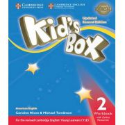 American Kids Box 2 - Workbook With Online Resources - Updated 2ed