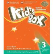 American Kids Box 3 - Workbook With Online Resources Updated - 02 Ed