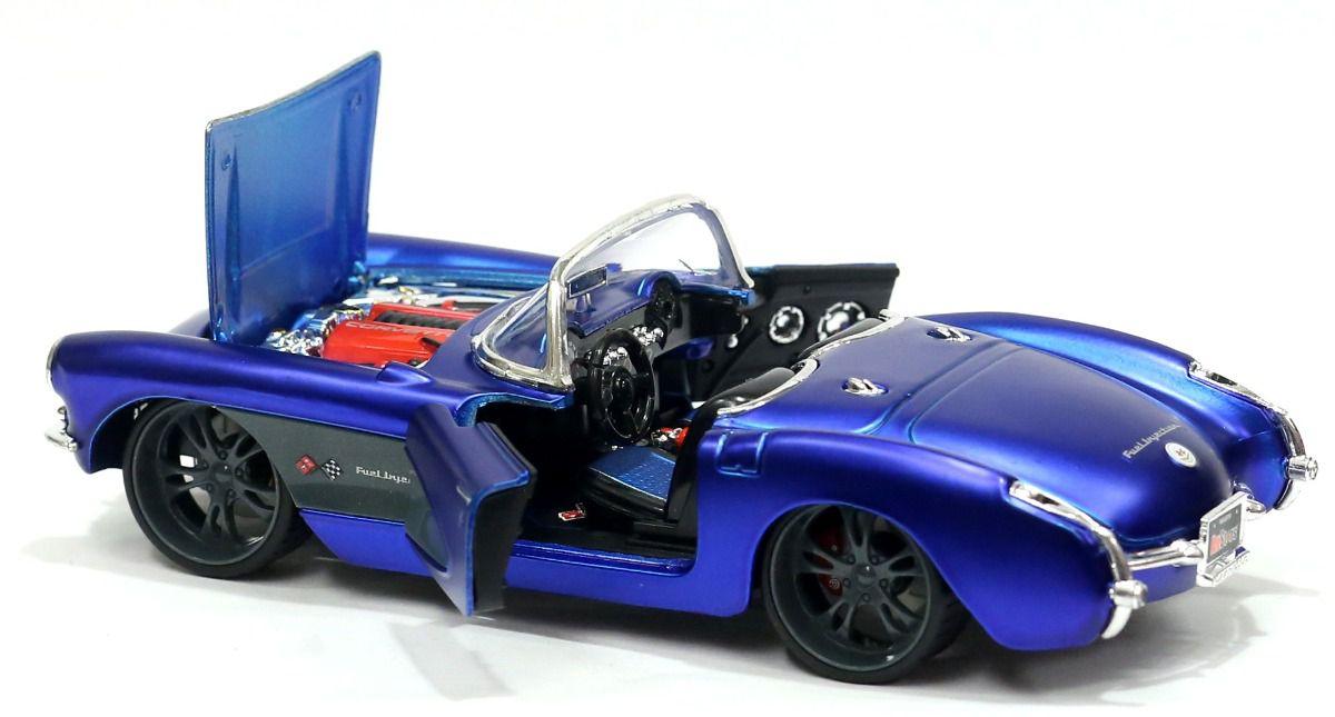 Miniatura Carro Chevrolet Corvette escala 1/24