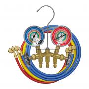 Manifold de Alumínio R22 / R12 / R134a / R404a - Mastercool