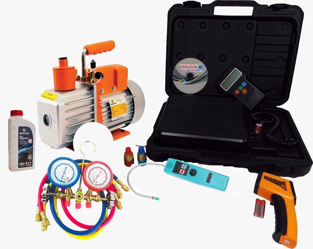 Kit para refrigeração automotiva 08