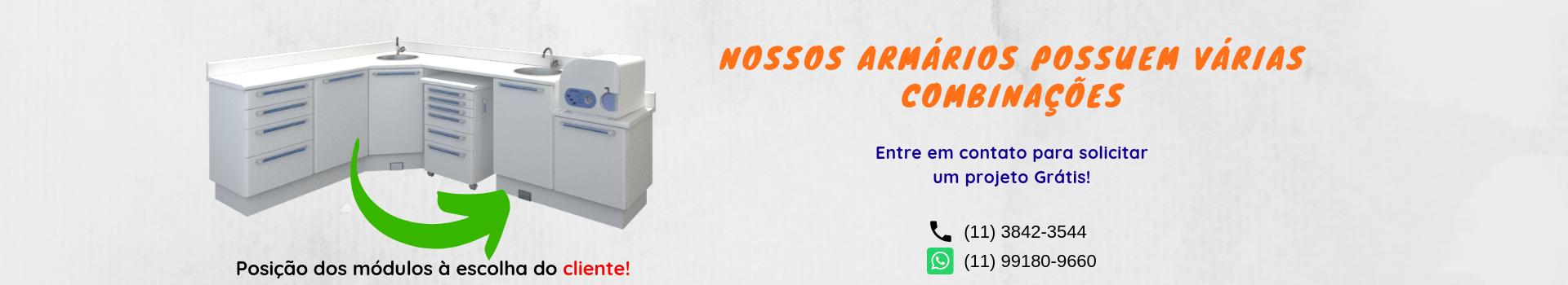 Armário Odontológico Planejado 06 - 1 80 x 3 00m