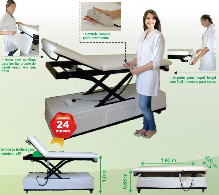 Maca Clínica Médica Automatizada Star