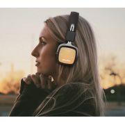 A750 Dourado - Awei Fone de Ouvido dobrável com microfone música Estéreo Bluetooth
