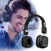A750BL Awei - Fone de Ouvido dobrável com Bluetooth e Microfone