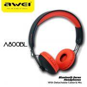 A800BL Awei Bluetooth Stereo Headphone
