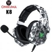 Fone de Ouvido Headset Gamer Onikuma K8