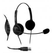 Fone de Ouvido Headset  HD820  FLEX BIAURICULAR é na Foneland