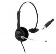 Fone de Ouvido Headset Unixtron HN21 Mobile Cygnus Voice Plug P2 - |Foneland