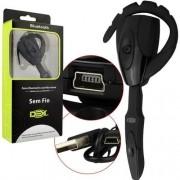 Fone De Ouvido Mono Bluetooth sem fio com microfone Dex B-71