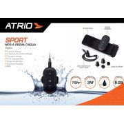 Fone de ouvido Multilaser Atrio ES054 à prova d'agua