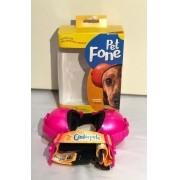 Fone De Ouvido Para Cachorro - Tamanho 3 rosa