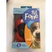 Fone De Ouvido Para Cachorro - Tamanho 2 vermelho
