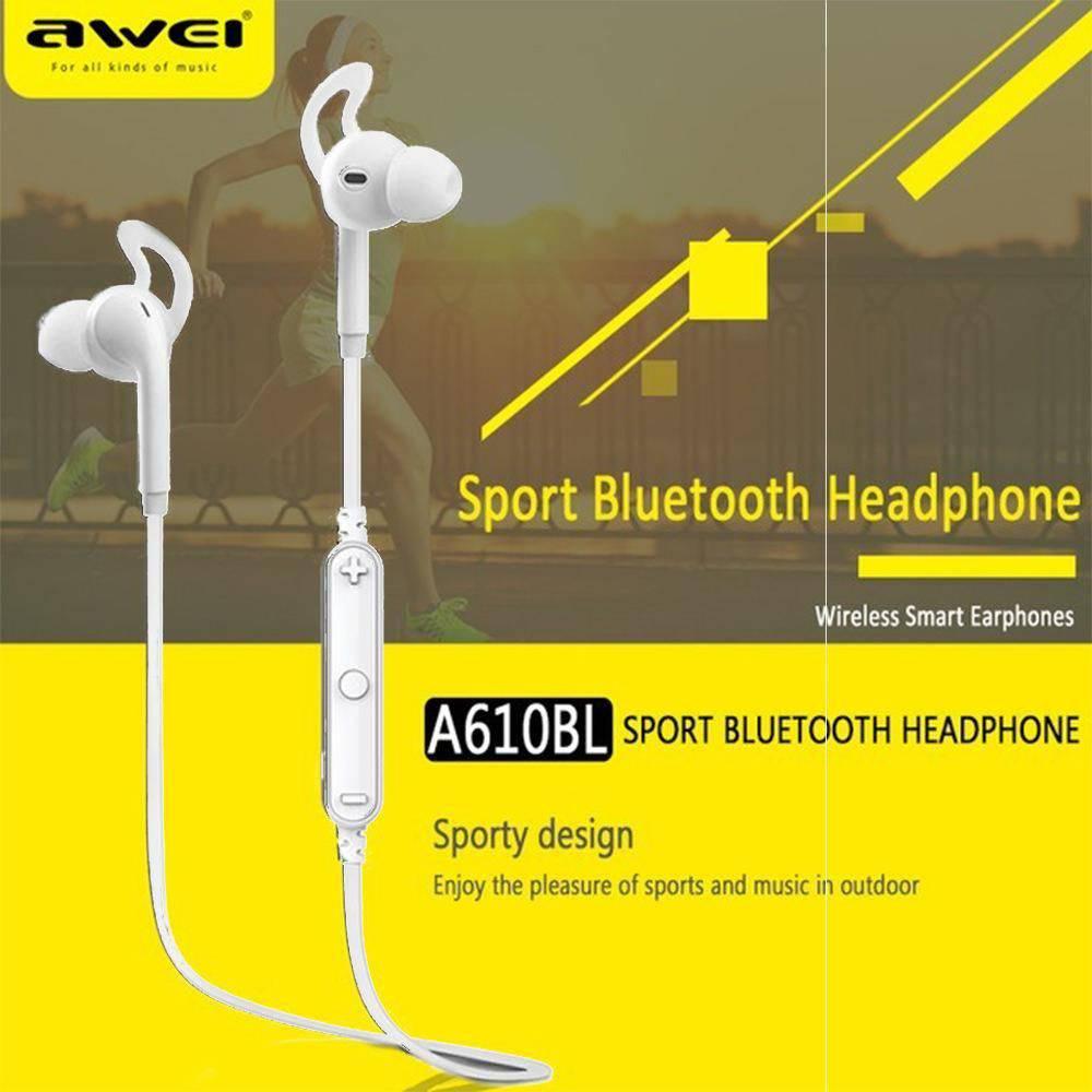 A610  Awei Fone de Ouvido Wireless Bluetooth para Esportes