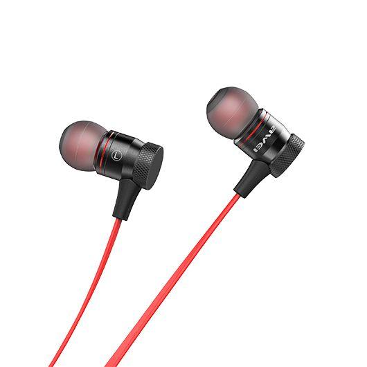 A920BL Awei Fone de Ouvido Bluetooth - Vermelho