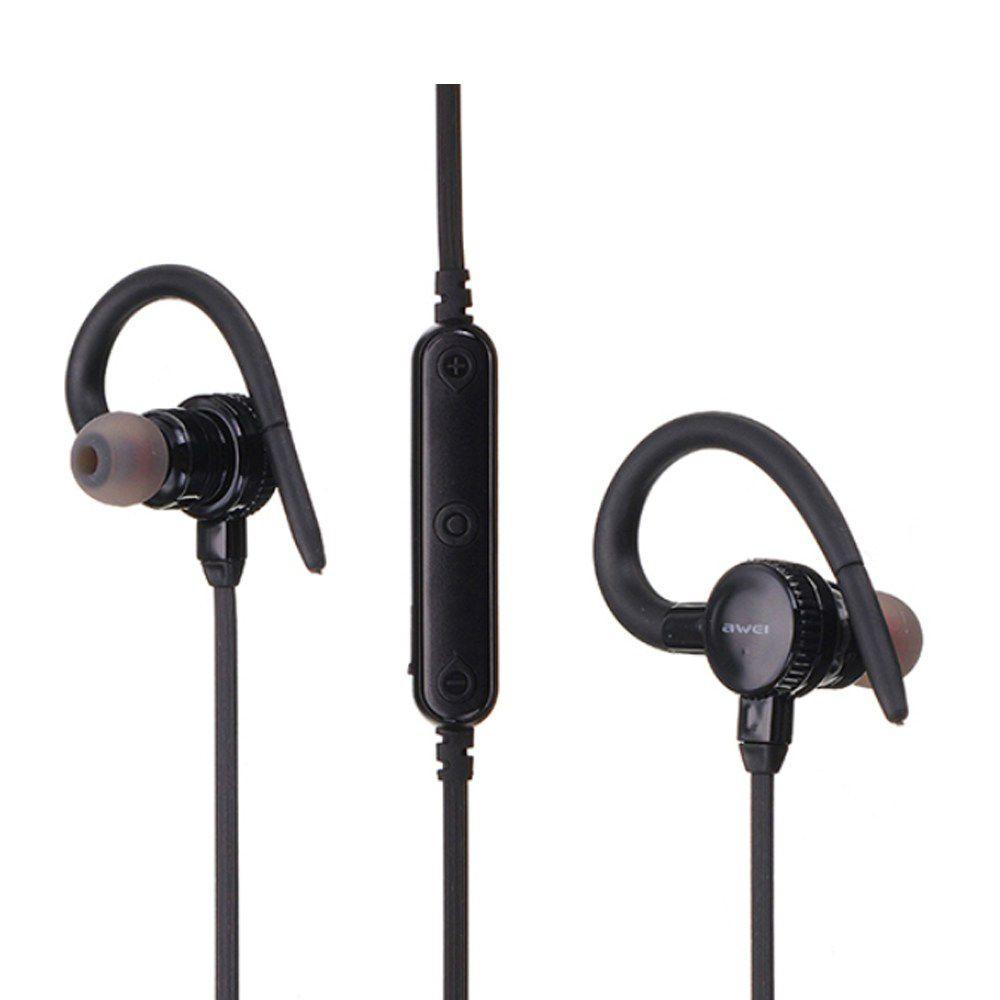 B925BL Awei Fone de Ouvido Bluetooth - Preto