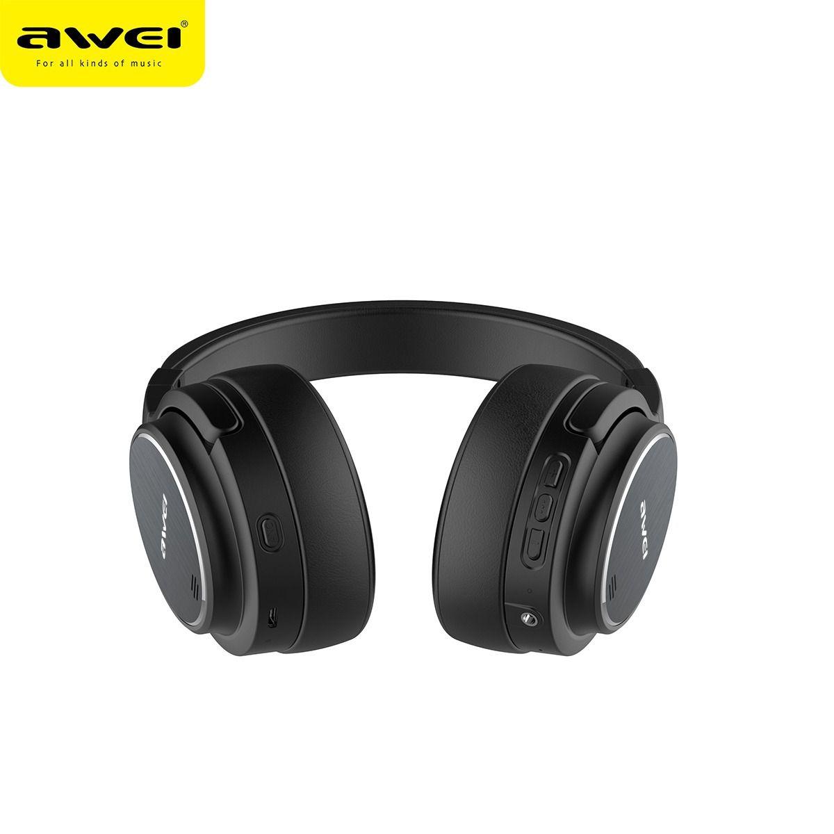 Fone de Ouvido com Cancelamento de Ruído - Awei A950BL