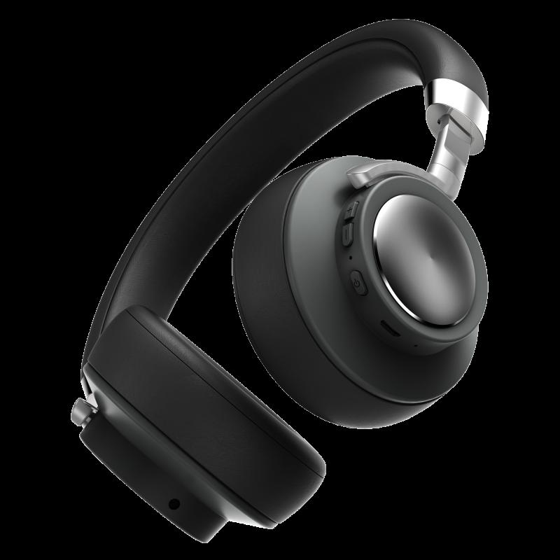 AerFluid – Fones sem Fio com 16h de bateria – Compatível com Siri e Google Assistant – Preto