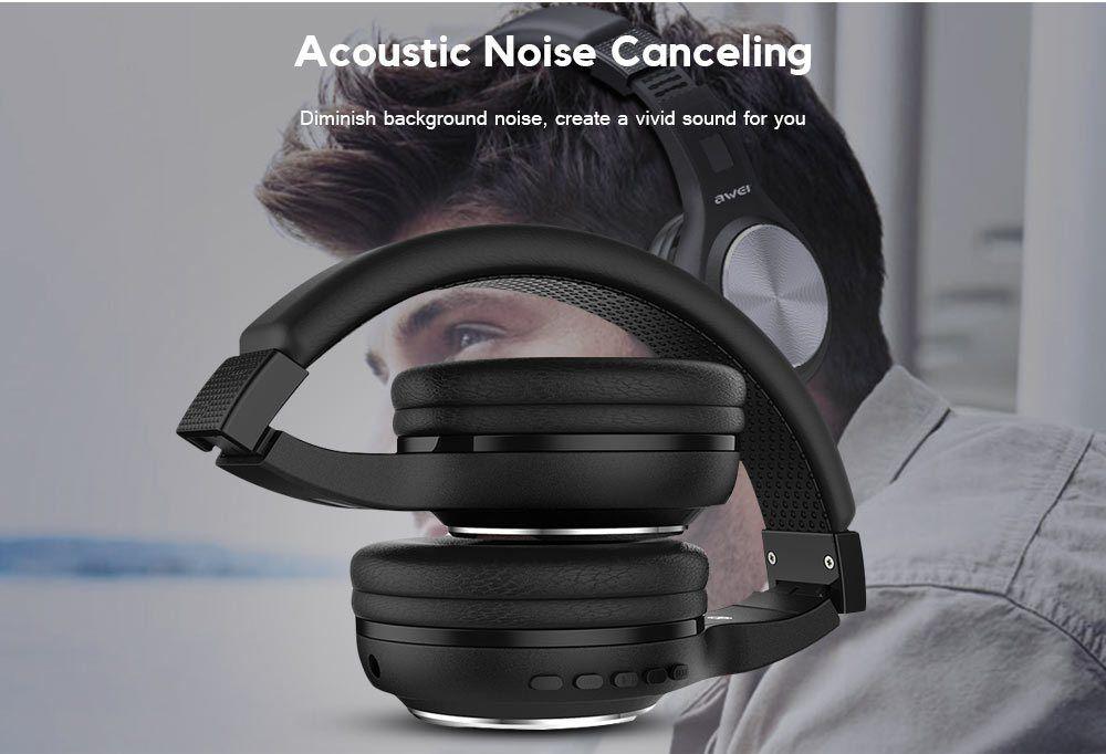 Awei A600 BL - Fone de ouvido Bluetooth On Ear