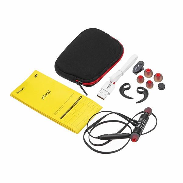 Awei AK8 Fone de Ouvido  Bluetooth 4.1 Azul