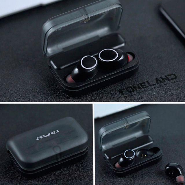 Awei T3 TWS - Fone de ouvido Bluetooth v5.0
