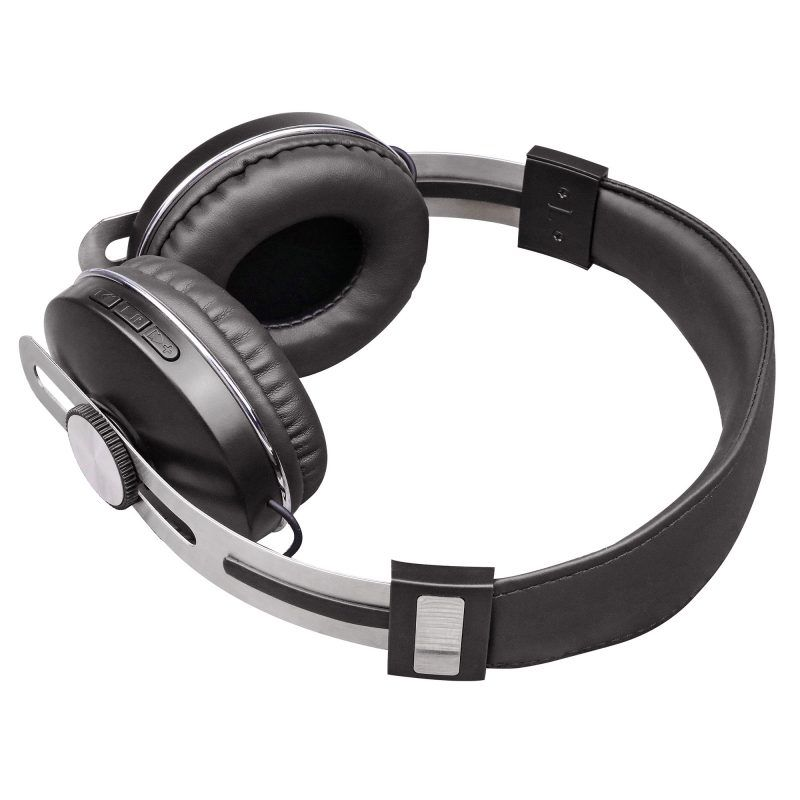 AerUrban – Fones de Ouvido Bluetooth Over-Ear – Preto