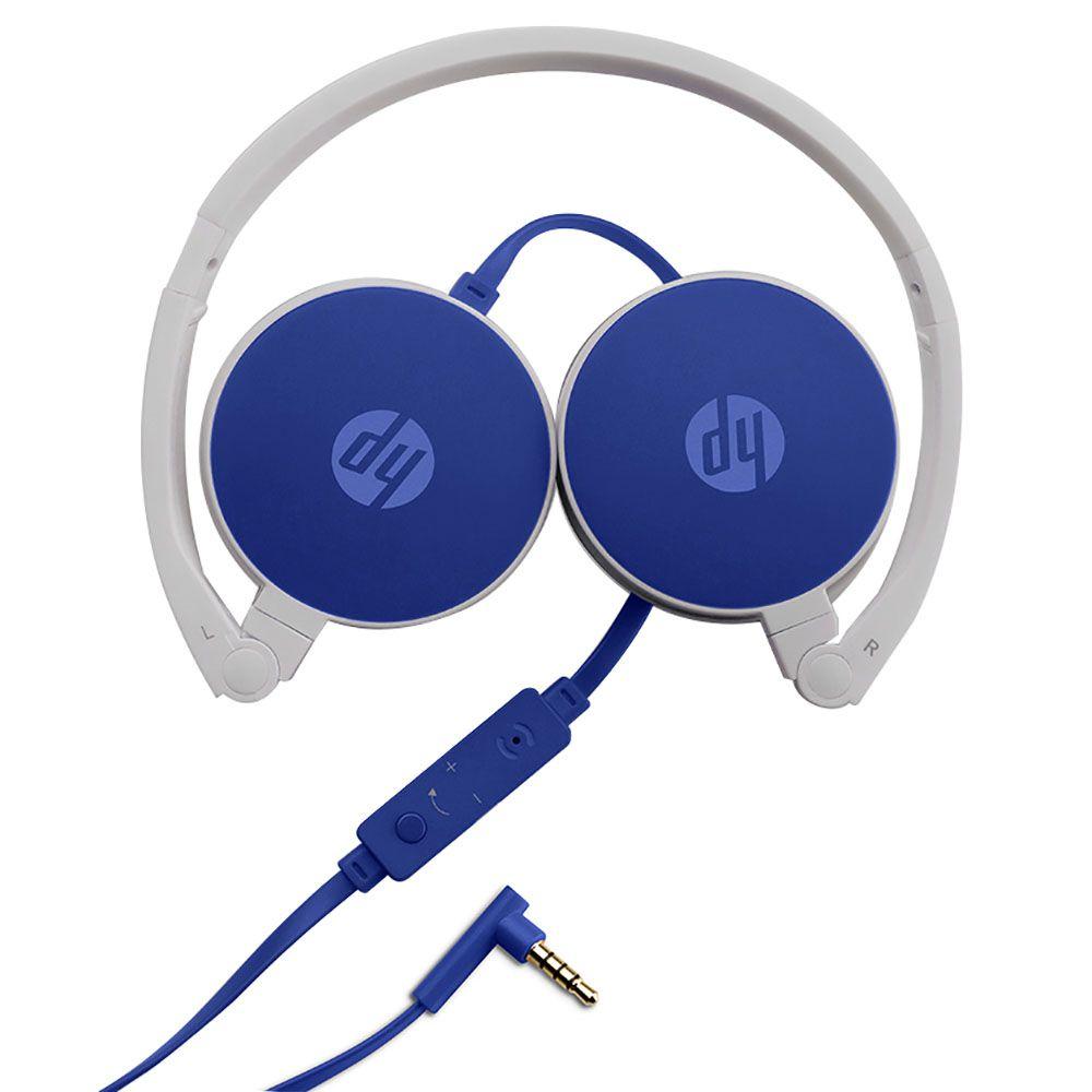 Fone de Ouvido HP H2800 Headset Casque Azul|Foneland